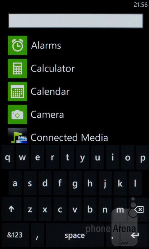 HTC Radar runs Windows Phone 7.5 - HTC Radar Review