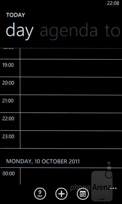 The Calendar - HTC Radar Review
