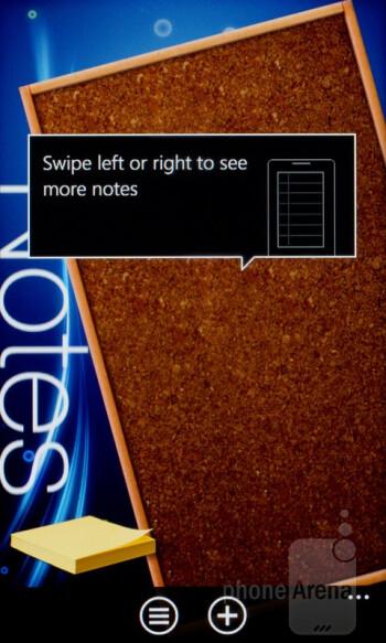 Notes - HTC Radar Review