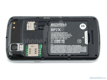 Battery compartment - Motorola PRO Review