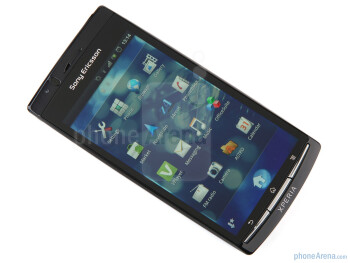 "The 4.2"" Reality Display of the Xperia arc S - Sony Ericsson Xperia arc S Review"