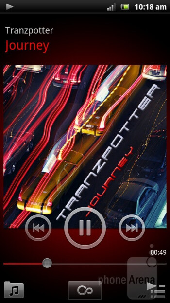 Music player - Sony Ericsson Xperia arc S Review