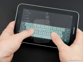 The Samsung Galaxy Tab 7.0 Plus is as easy to hold and carry around - Samsung Galaxy Tab 7.0 Plus Preview