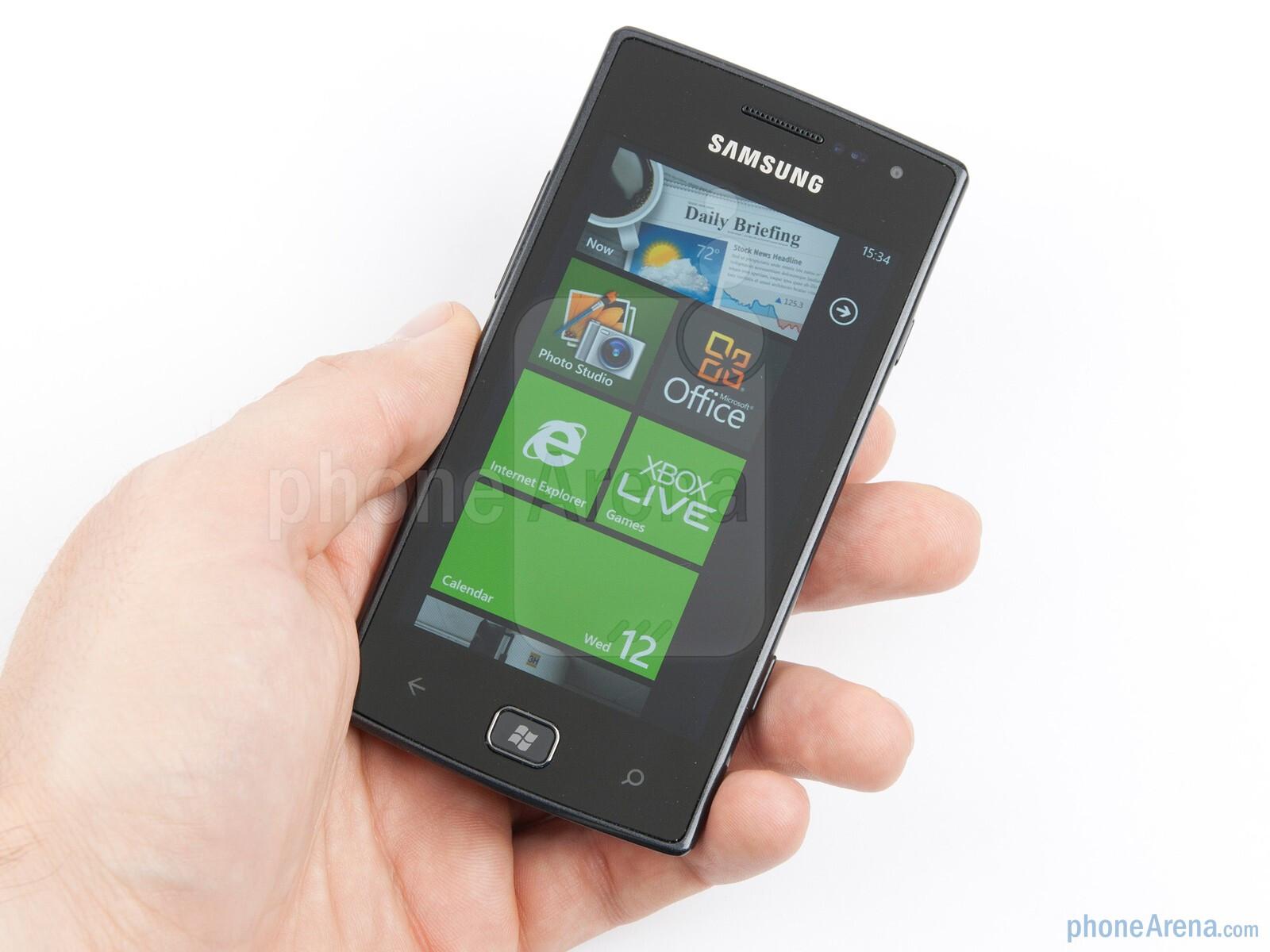 Samsung Omnia W Preview