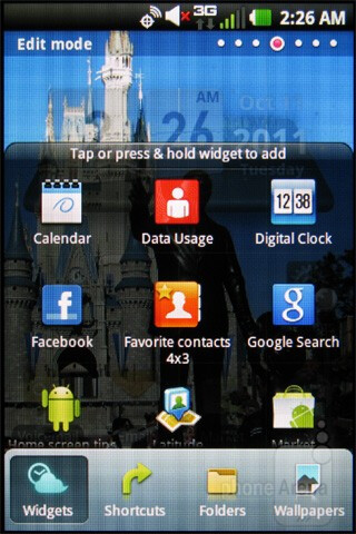 The LG Enlighten comes with Android 2.3.4 Gingerbread - LG Enlighten Review
