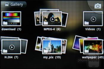 The gallery app - LG Enlighten Review