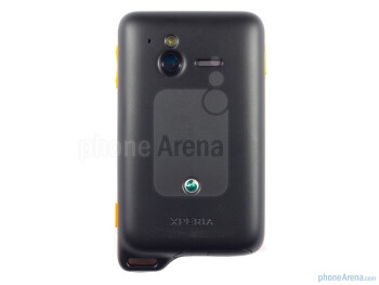 Back - Sony Ericsson Xperia active Review