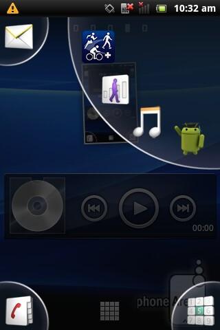 The Sony Ericsson Xperia active has Android 2.3.4, plus Sony Ericsson specific UI modifications - Sony Ericsson Xperia active Review