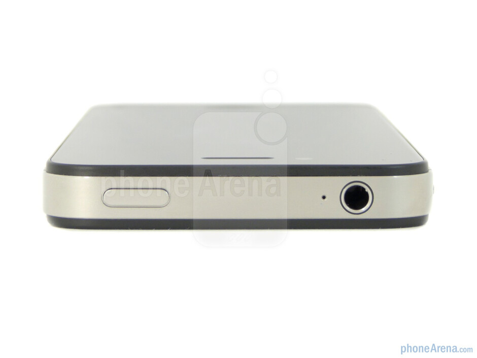 3.5 mm jack and power key (top) - Apple iPhone 4S Review