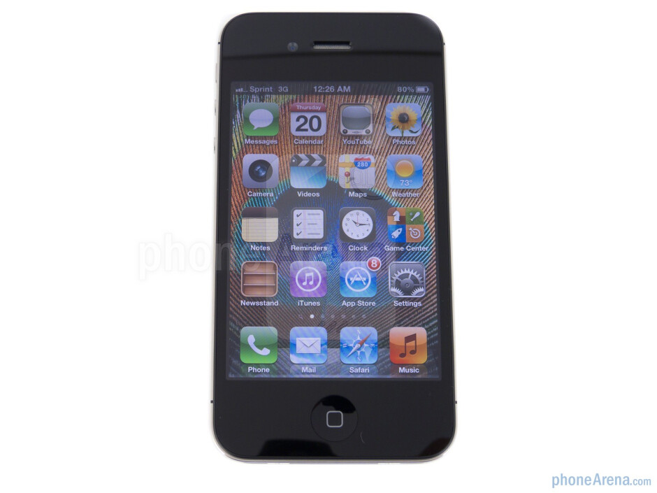 """We find the same old 3.5"""" IPS display that's featured with last year's model - Apple iPhone 4S Review"""