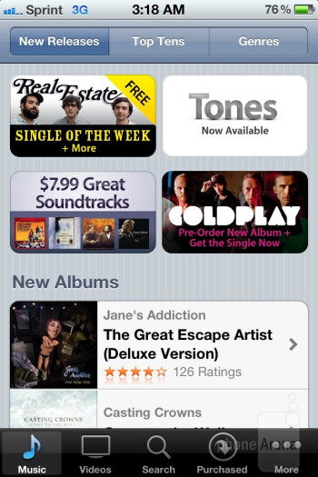 iTunes - Apple iPhone 4S Review