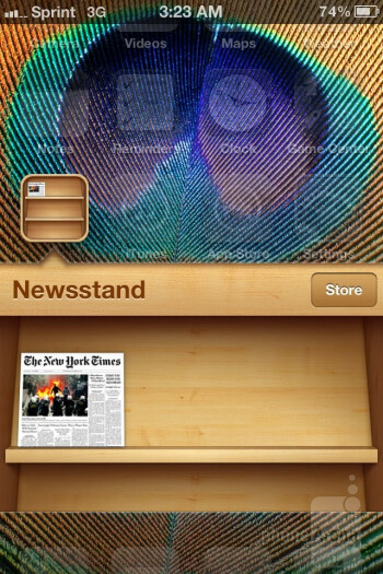 The Newsstand app - Apple iPhone 4S Review