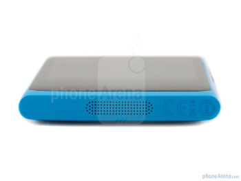 The speaker at the bottom - Nokia N9 Review