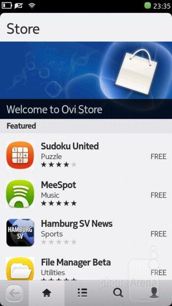 Ovi Store - Nokia N9 Review