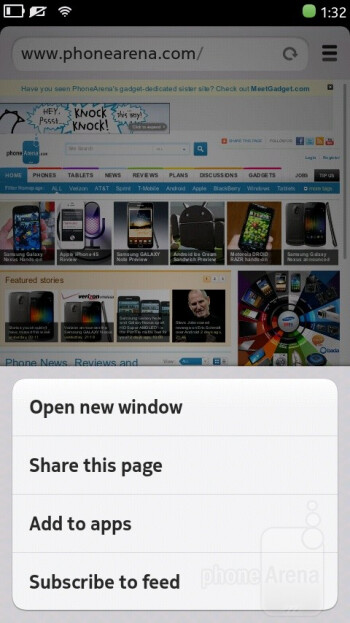 Web browsing is a very positive experience on the Nokia N9 - Nokia N9 Review