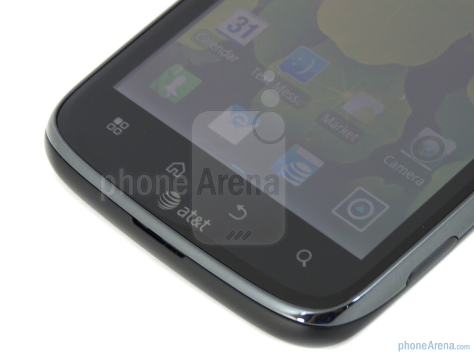 Capacitive Android buttons - Motorola ATRIX 2 Review