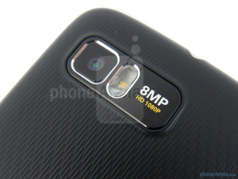 Rear camera - Motorola ATRIX 2 Review
