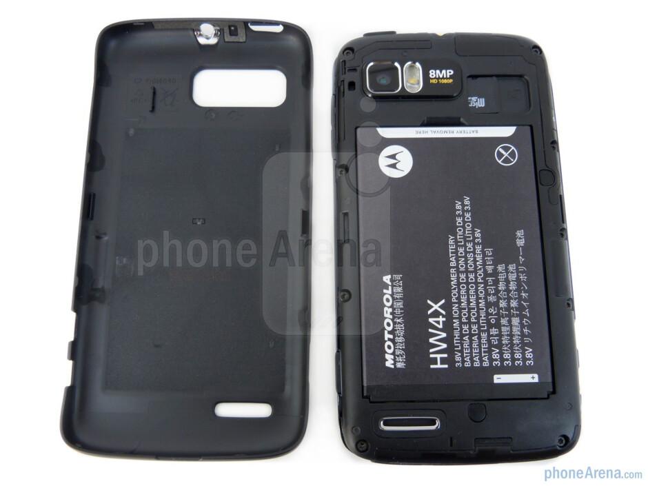 Battery compartment - Motorola ATRIX 2 Review