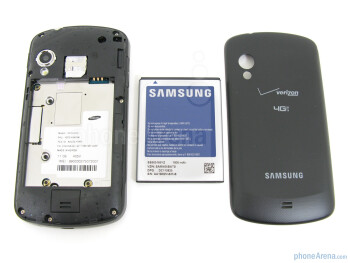 Battery compartment - Samsung Stratosphere Review