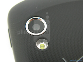 Rear camera - Samsung Stratosphere Review