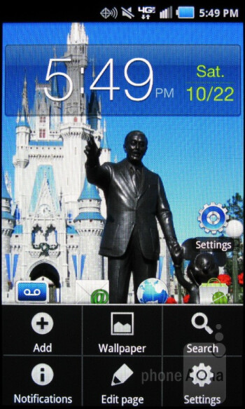 The Samsung Stratosphere come running Android 2.3.5 Gingerbread out of the box - Samsung Stratosphere Review