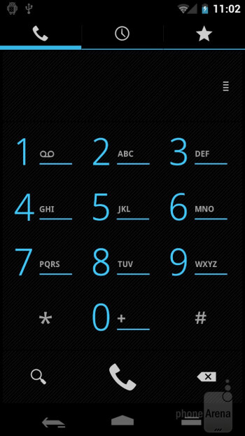 Dialer - Samsung Galaxy Nexus Preview