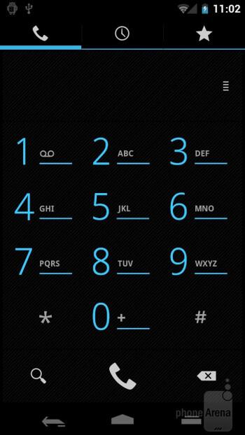 Dialer - Samsung Galaxy Nexus Preview