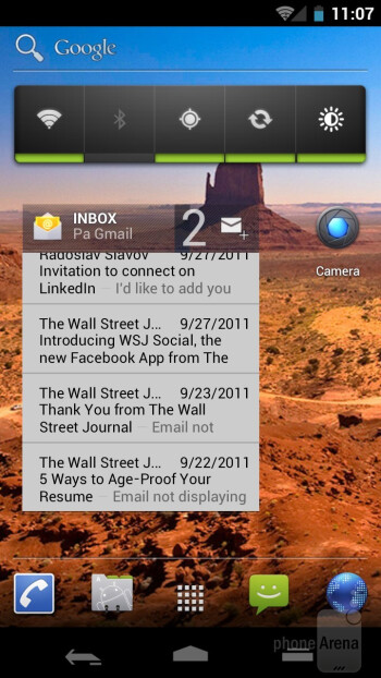 Samsung Galaxy Nexus Preview