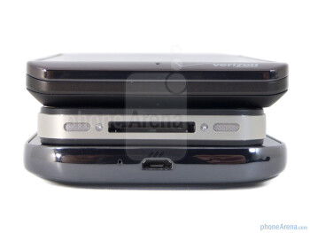Bottom - Samsung Galaxy S II for T-Mobile (bottom), Apple iPhone 4S (middle) and Motorola DROID BIONIC (top) - Apple iPhone 4S vs Motorola DROID BIONIC vs Samsung Galaxy S II T-Mobile