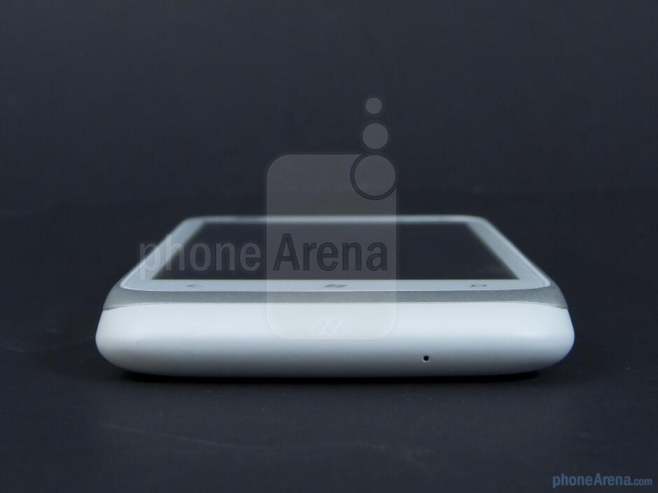 Bottom - The sides of the HTC Radar 4G - HTC Radar 4G Review