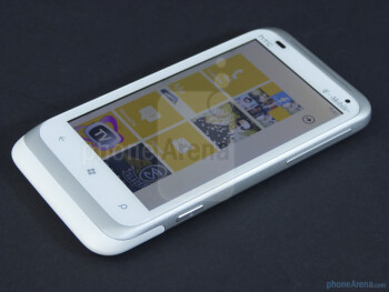 "The HTC Radar 4G has a 3.8"" WVGA Super LCD display - HTC Radar 4G Review"