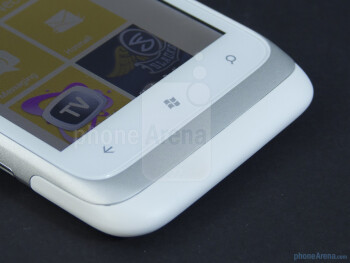 Windows Phone buttons - HTC Radar 4G Review