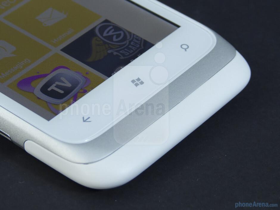 Windows Phone buttons - HTC Radar 4G Review