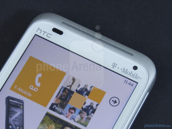 Front facing camera - HTC Radar 4G Review