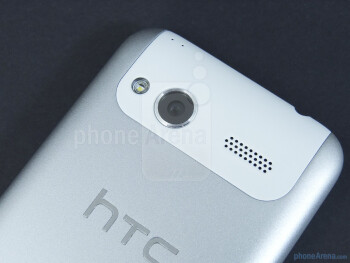 On the back we find the 5-megapixel auto-focus camera with LED flash - SIM card slot - HTC Radar 4G Review
