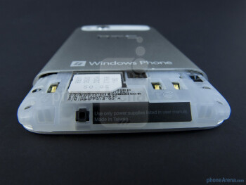 SIM card slot - HTC Radar 4G Review