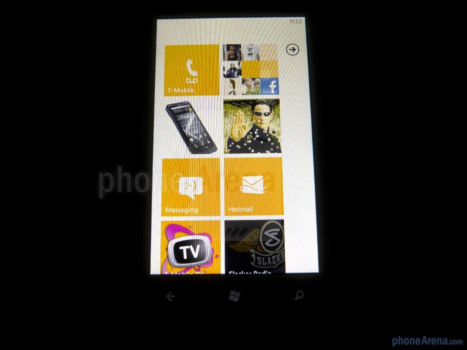 "The HTC Radar 4G has a 3.8"" WVGA Super LCD display - HTC Radar 4G Review"