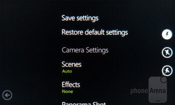 Camera interface - HTC Radar 4G Review