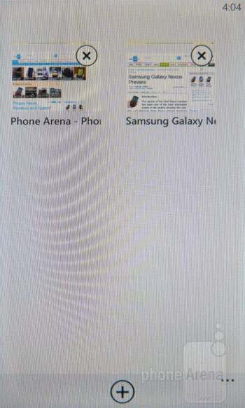 Web surfing - HTC Radar 4G Review