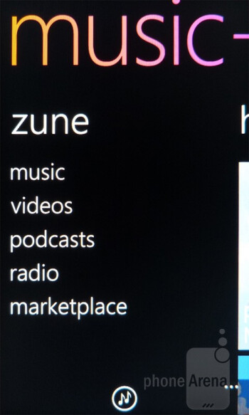 Zune - HTC Radar 4G Review