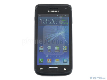 Front - Samsung GALAXY W Review