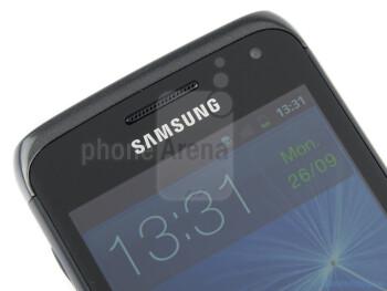 Front-facing camera - Samsung GALAXY W Review