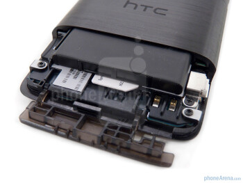 Battery compartment - HTC EVO Design 4G Review