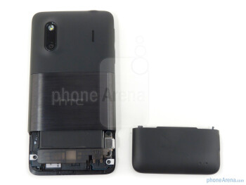 Back cover removed - HTC EVO Design 4G Review