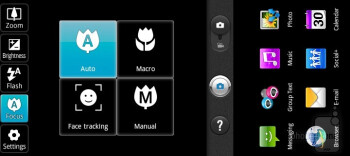 Camera interface - LG DoublePlay Review