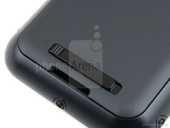 The back cover release - Motorola DEFY+ Review
