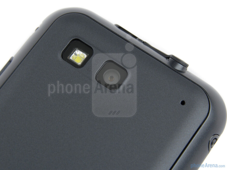 The 5-megapixel camera on the back - Motorola DEFY+ Review