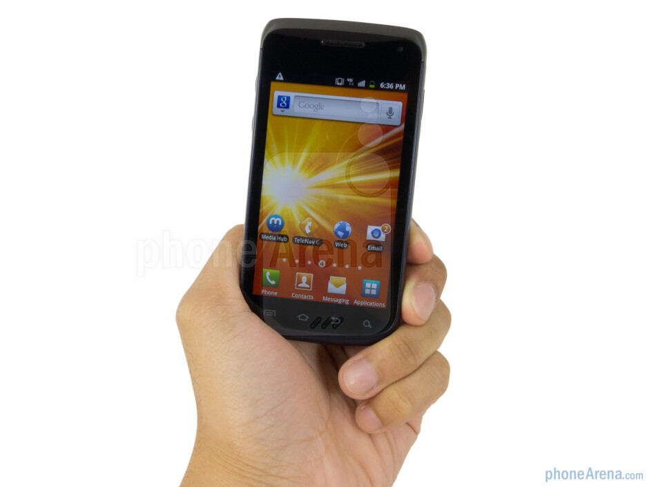 The Samsung Exhibit II 4G is compact and light enough to go unnoticed in the pockets - Samsung Exhibit II 4G Review