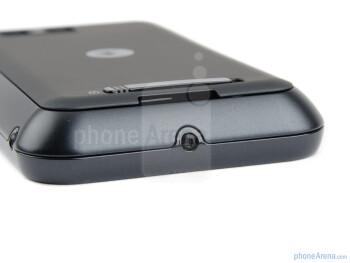 The bottom side - Motorola DEFY+ Review