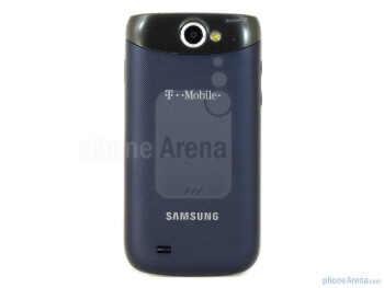 The rear packs a 3.2-megapixel auto-focus camera with LED flash - Samsung Exhibit II 4G Review